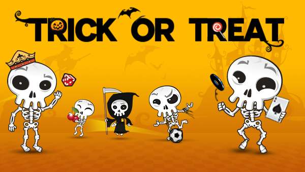 Trick or Treat de l'halloween