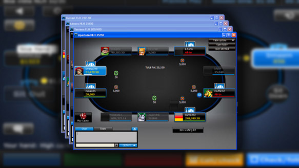 Через смартфон казино