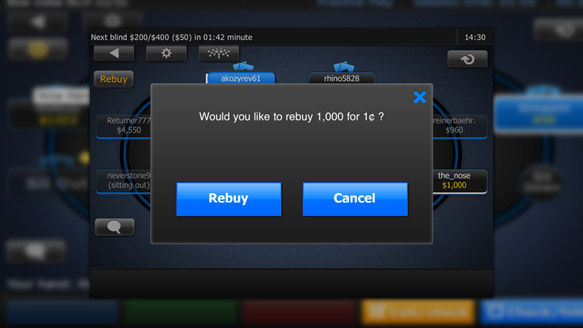 Rebuy pop-up