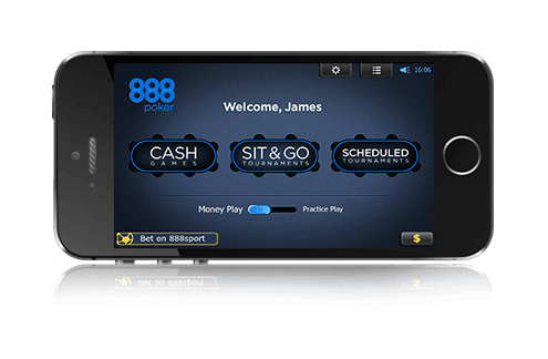 mobile poker client