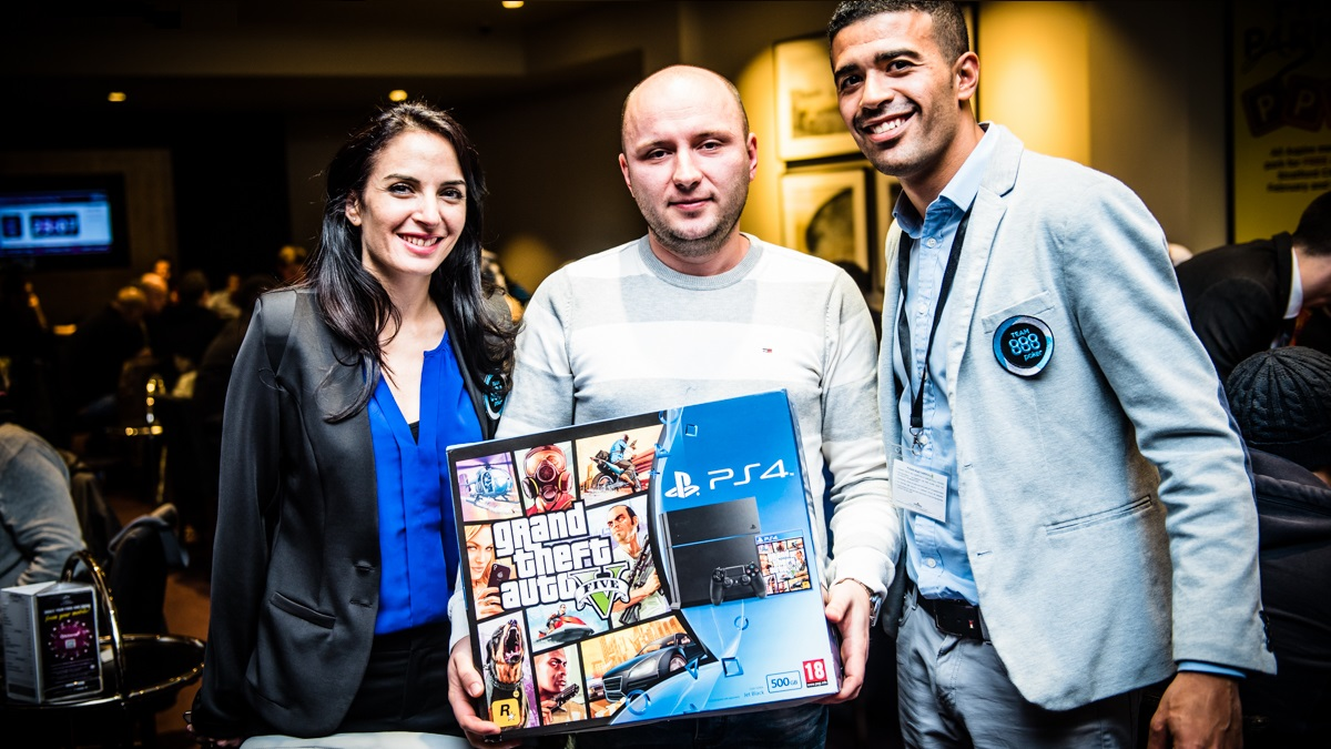 888live Local Aspers London - Main Event-1-2 Playstation Winner