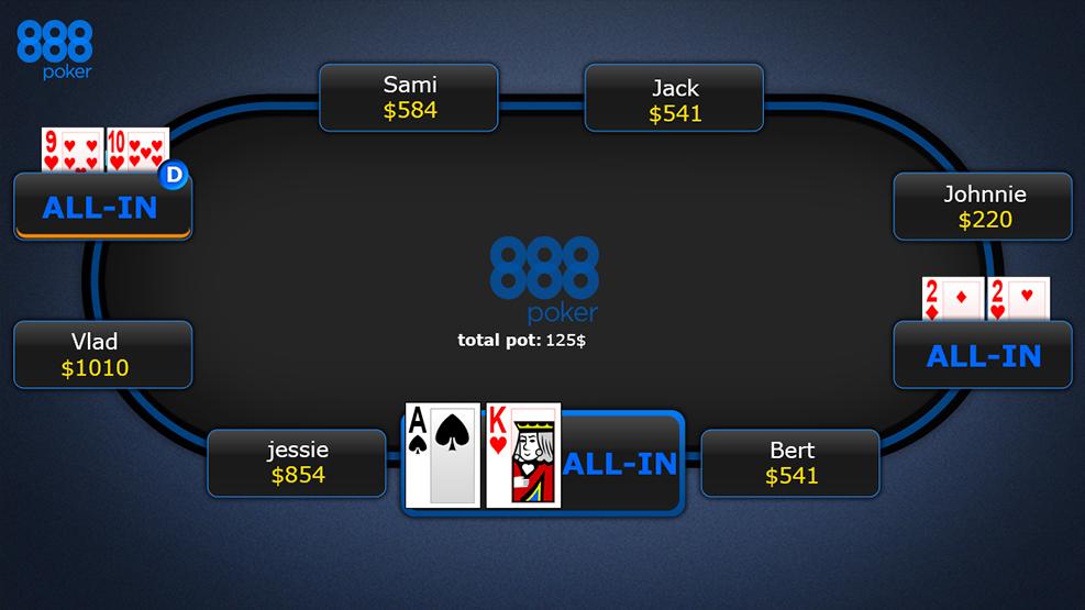Poker hand strength calculator online